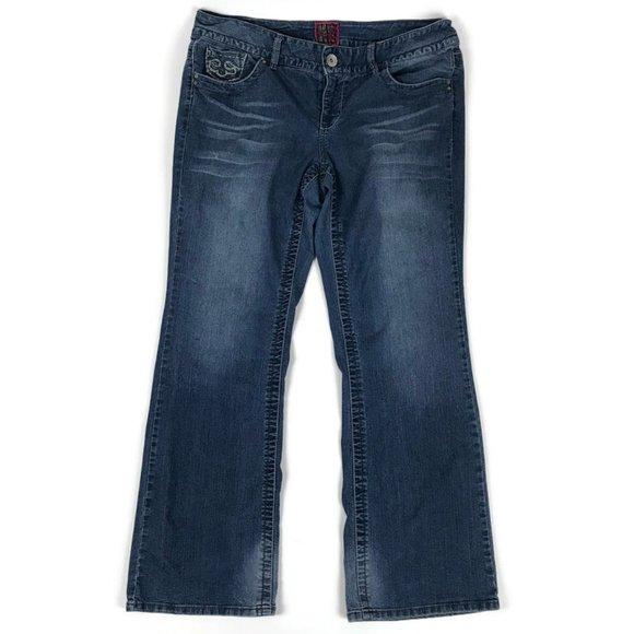 Torrid Bootcut Stretch Denim Jeans Womens Size 18